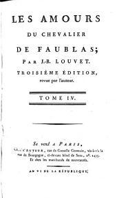 Fin des amours du chevalier de Faublas [cont'd