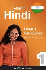 Learn Hindi   Level 1  Introduction to Hindi PDF