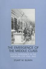 The Emergence of the Middle Class PDF