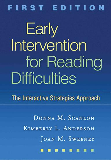 Early Intervention for Reading Difficulties PDF