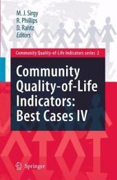 Community Quality-of-Life Indicators: Best Cases IV