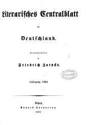 Literarisches Zentralblatt für Deutschland