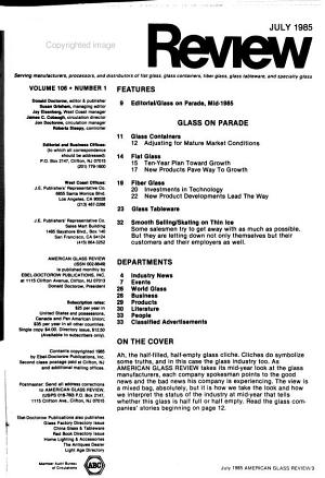 American Glass Review PDF