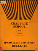 Annual Catalogue of the Idaho Technical Institute PDF