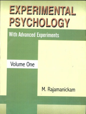 Experimental Psychology With Advanced Experiments  in 2 Vols