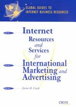 Internet Resources and Services for International Marketing and Advertising PDF