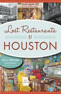 Lost Restaurants of Houston Book