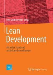 Lean Development: Aktueller Stand und zukünftige Entwicklungen