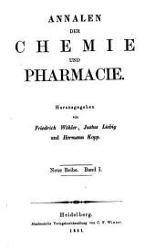 Annalen der Chemie und Pharmacie: Bände 1-2;Bände 77-78