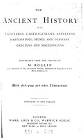 The ancient history of the Egyptians  Carthaginians   c    Transl  1 vol   in 2   PDF