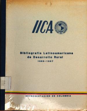 Bibliograf  a Latinoamericana de Desarrollo Rural 1986 1987 PDF