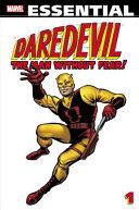 Essential Daredevil   Volume 1 PDF