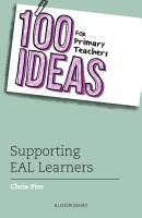 100 Ideas for Primary Teachers  Supporting EAL Learners PDF
