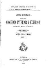 Informes y documentos relativos á comercio interior y exterior agricultura é industrias: Volumen 8