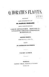 Q. Horatius Flaccus: Volume 2