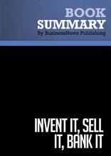 Summary  Invent It  Sell It  Bank it PDF