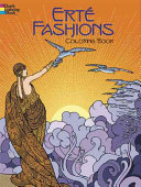 Erte Fashions Coloring Book