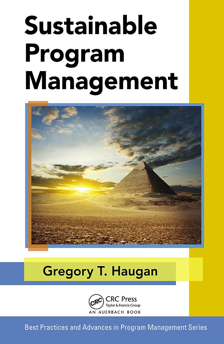 Sustainable Program Management