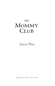 The Mommy Club PDF