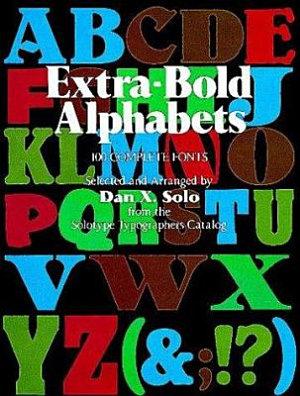 Extra-bold Alphabets