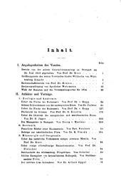 Jahreshefte des Vereins für Vaterländische Naturkunde in Württemberg: zugl. Jahrbuch d. Staatlichen Museums für Naturkunde in Stuttgart, Band 10