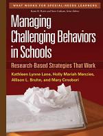 Managing Challenging Behaviors in Schools