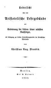 Handbuch der Geschichte der griechisch-römischen Philosophie: Band 3,Ausgabe 1