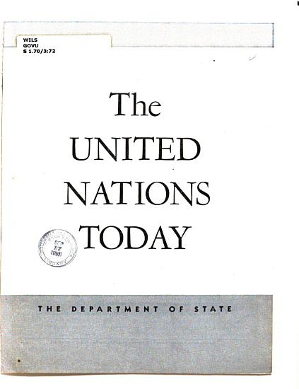 The United Nations Today PDF