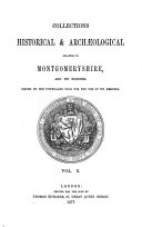 Collections Historical & Archaeological Relating to Montgomeryshire
