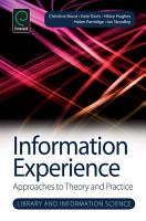 Information Experience PDF