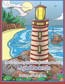 Adult Color by Numbers Coloring Book of Lighthouses