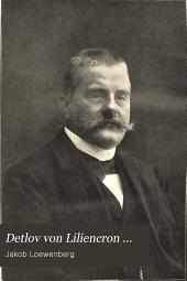 Detlov von Liliencron ...