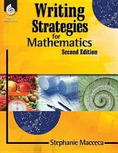 Writing Strategies for Mathematics