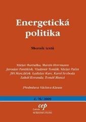 Energetická politika