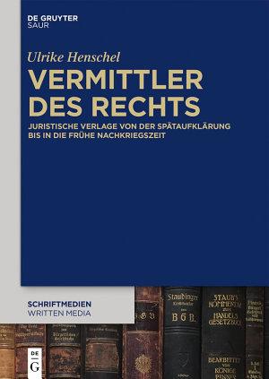 Vermittler des Rechts PDF