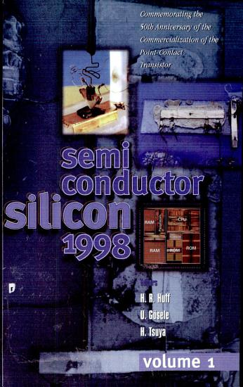 Silicon Materials Science and Technology PDF