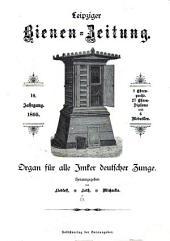 Leipziger Bienenzeitung: Band 10