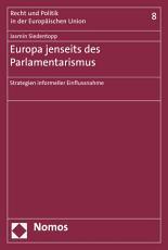 Europa jenseits des Parlamentarismus PDF