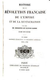 Histoire de la révolution française: de l'empire et de la restauration, Volume2