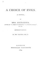 A Choice of Evils: A Novel, Volume 2