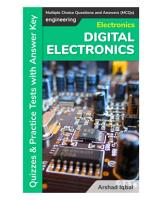 Digital Electronics Multiple Choice Questions and Answers  MCQs  PDF