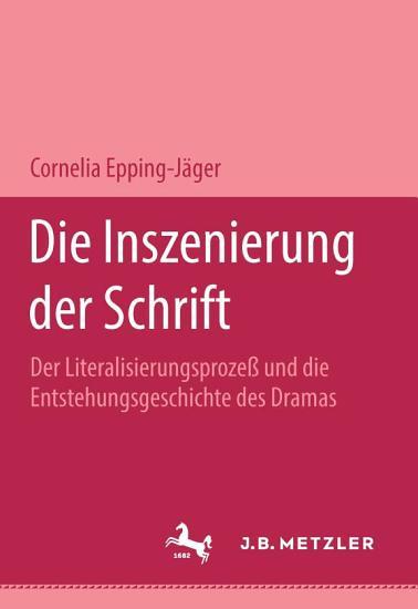 Die Inszenierung der Schrift PDF