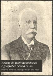 Revista do Instituto histórico e geográfico de São Paulo: Volume 10