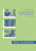 Australian Library Supervision   Management PDF