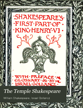 The Temple Shakespeare: Volume 12, Part 1
