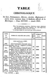 Bulletin officiel de la Martinique