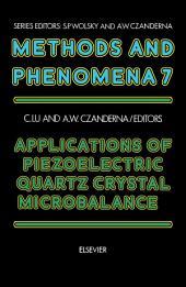 Applications of Piezoelectric Quartz Crystal Microbalances