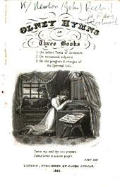 Olney Hymns in three books, etc. [By J. Newton and William Cowper. With a portrait of Newton.]