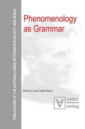 Phenomenology as Grammar