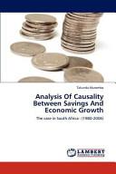 Analysis of Causality Between Savings and Economic Growth PDF